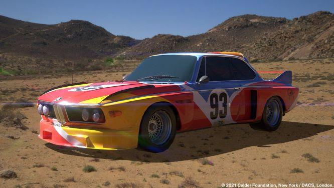 Modelos renomados comoBMW3.0 CSL (1975) do Alexander Calder,BMWM3 (1989) de Michael Jagamara Nelson eBMW525i (1991) de Esther Mahlangu estão entre as atrações.