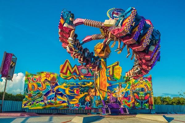 Tivoli Park funcionará aos domingos de 11h às 21h durante o mês de agosto