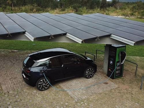BMW Group Brasil cria sistema de recarga para carros elétricos alimentado por energia solar