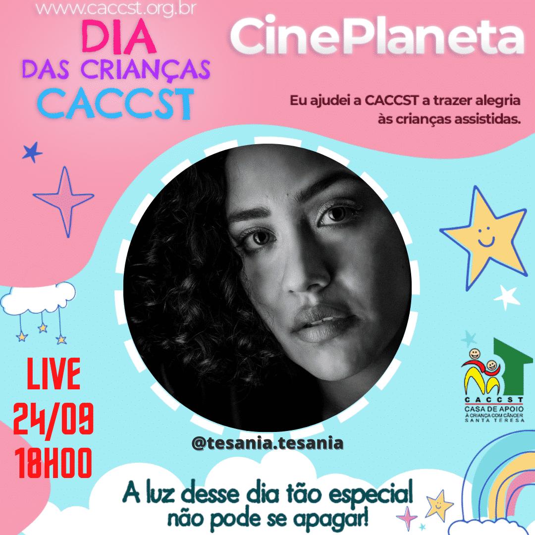 Tesania estrela Peruana no Show de Talentos Cineplaneta dia 24/09