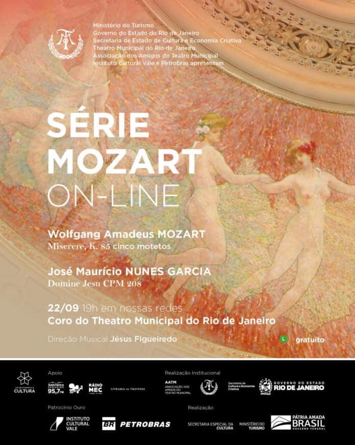 Coro do Theatro Municipal do Rio de Janeiro na Série Mozart On-Line no Dia da Música Colonial Brasileira